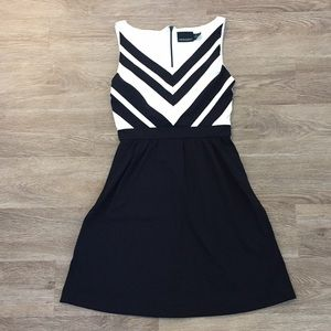 Cynthia Rowley Black and White Dress